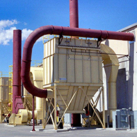 The pulse jet bag dust collector is a proven stable for industrial air filtration needs